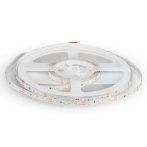 V-TAC beltéri SMD LED szalag, 3528, természetes fehér, 60 LED/m - 2041