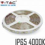 V-TAC kültéri SMD LED szalag, 3528, természetes fehér, 60 LED/m - 2043