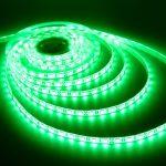 V-TAC 3528 kültéri zöld SMD LED szalag 60 LED/m IP65 - 2034