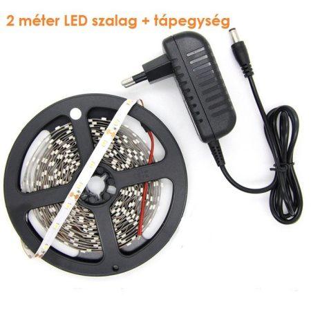 3528 SMD LED szalag szett 2m - meleg fehér