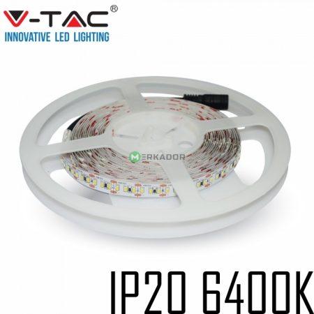 V-TAC beltéri SMD LED szalag, 3528, hideg fehér, 120 LED/m - 2002