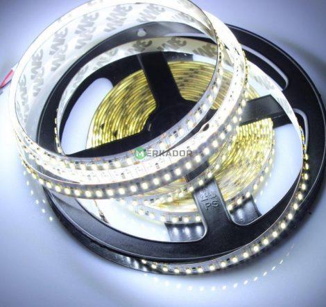 V-TAC beltéri SMD 3014 LED szalag - hideg fehér, 204 LED/m - SKU 2403