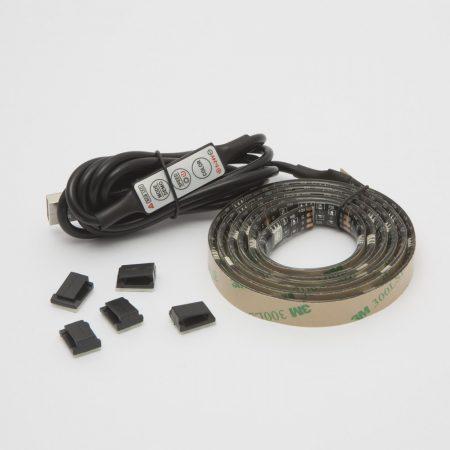 LCD TV háttérvilágítás - RGB USB LED szalag szett 1m