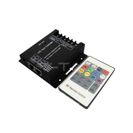 V-TAC szinkronizálható RGB LED szalag vezérlő - 3339