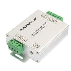 V-TAC RGB LED szalag jelerősítő 12A/144W - 3309
