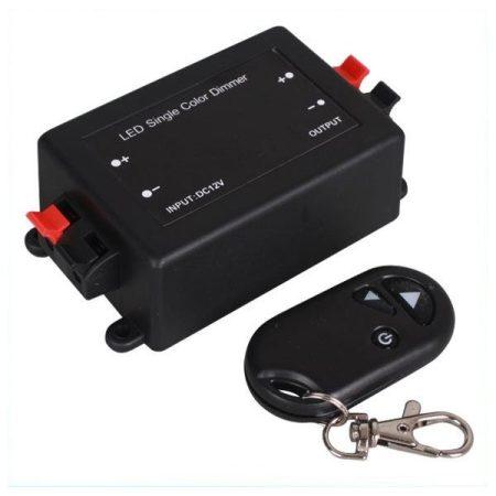 V-TAC LED szalag dimmer - távirányítós rádiós fényerőszabályzó, 12V - 24V - 3300