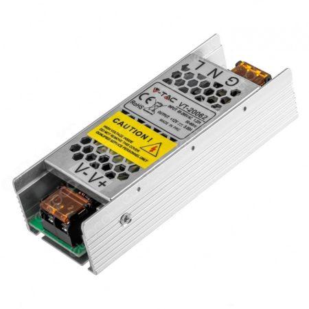 V-TAC hálózati adapter, LED tápegység fém 12V 6A 75W - 3247