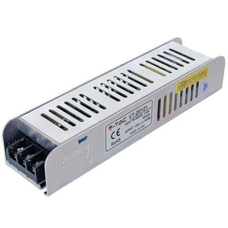V-TAC hálózati LED tápegység 12V 10A 120W - 3243