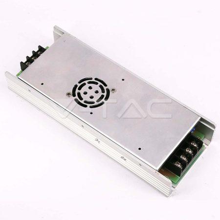 V-TAC hálózati fémházas LED tápegység 12V 30A 350W - 3259