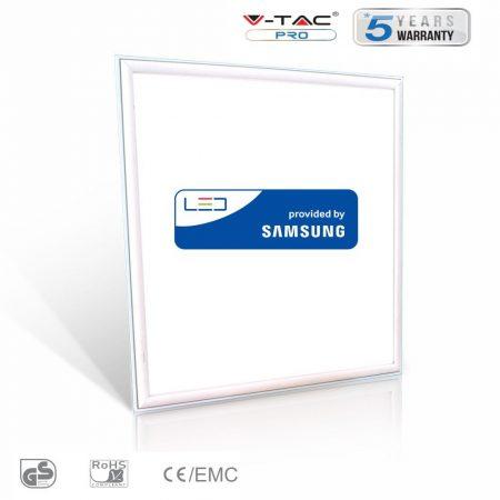 V-TAC 45W Samsung chipes LED panel 60 x 60cm - meleg fehér - 632