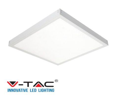 V-TAC felületre szerelhető mennyezeti LED panel, 40W, 6400K, 60 x 60 cm - 6452