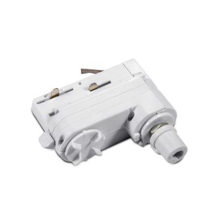V-TAC 3 pólusú tracklight foglalat adapter - 3659