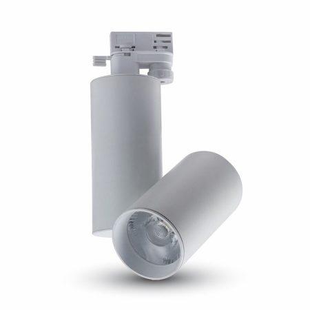 V-TAC 15W LED track light lámpa sínes üzletvilágításhoz - 3000K - 1298