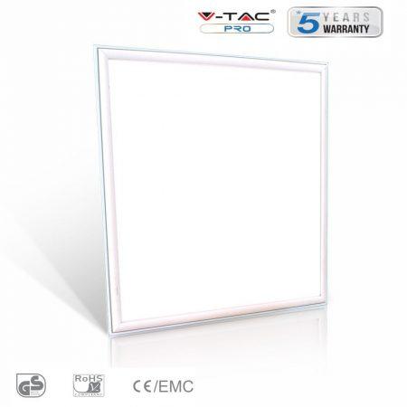 V-TAC PRO 45W meleg fehér LED panel 60 x 60cm - 6419