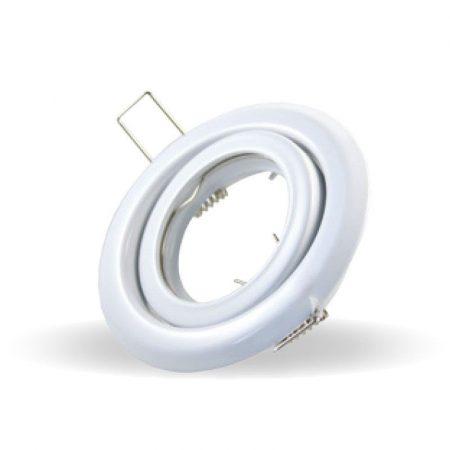 Billenthető beépíthető fehér spot lámpa keret, lámpatest - MK-3469
