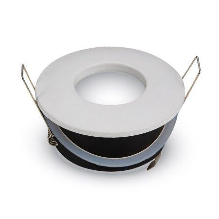 IP54 LED lámpa spot keret, beépíthető lámpatest - kör, fehér - MK-3613