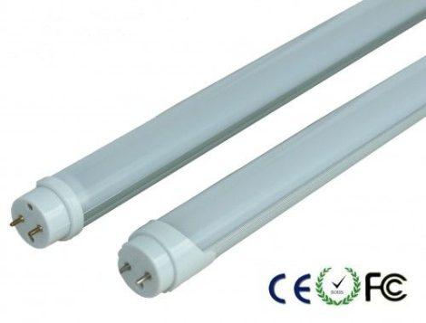 V-TAC szerelésmentes LED fénycső 120 cm T8 18 W - meleg fehér - 6263