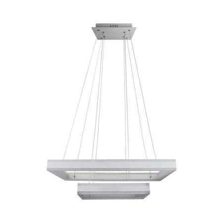 V-TAC exkluzív két szintes mennyezeti LED csillár - meleg fehér - 3986