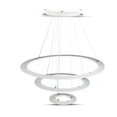 V-TAC exkluzív három szintes mennyezeti LED csillár - meleg fehér - 3904