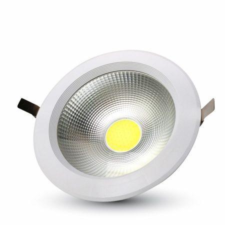 V-TAC A++ beépíthető LED mélysugárzó 30W, 4000K - 1277