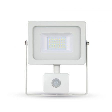V-TAC mozgásérzékelős slim 20W SMD LED reflektor - 6400K - 5806
