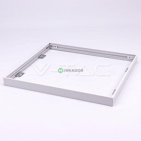 V-TAC DIY fehér LED panel csavaros beépítő keret - 60x60 cm - 8156