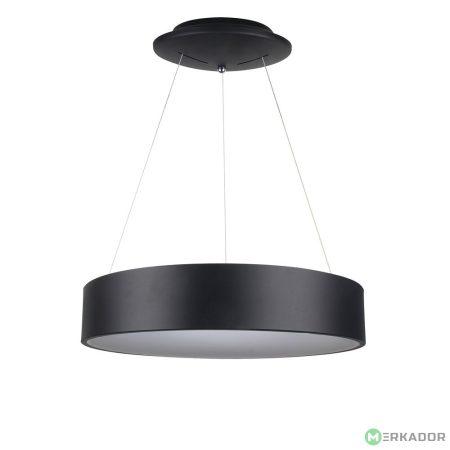 V-TAC 20W fényerőszabályozható csillár, fekete mennyezeti LED lámpa - 3993