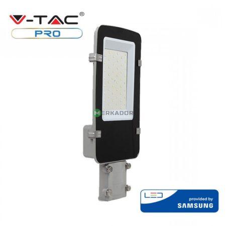 V-TAC PRO A++ utcai LED lámpa, közvilágítási lámpatest 30W - Samsung chip, 4000K - 525