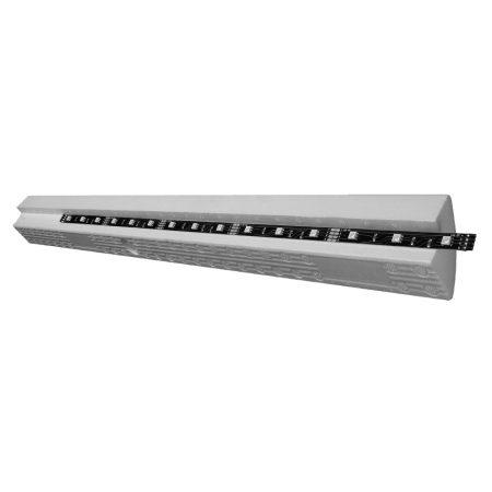 Decosa Karoline fényléc, LED szalag profil, festhető díszléc 2m