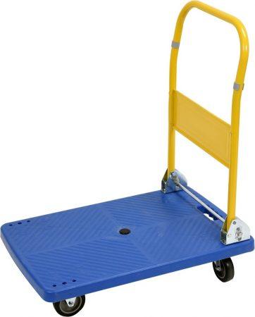 Összecsukható szállító kocsi, platós kézikocsi / molnárkocsi