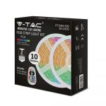 V-TAC 10 m RGB LED szalag szett, IP20, 5050 SMD, 30 LED/m - 2630