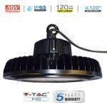 V-TAC PRO LED csarnokvilágító mélysugárzó lámpa 100W, 4500K - 5550