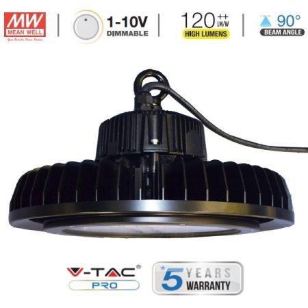 V-TAC PRO dimmelhető LED csarnokvilágító lámpa 100W, 4000K - 5587
