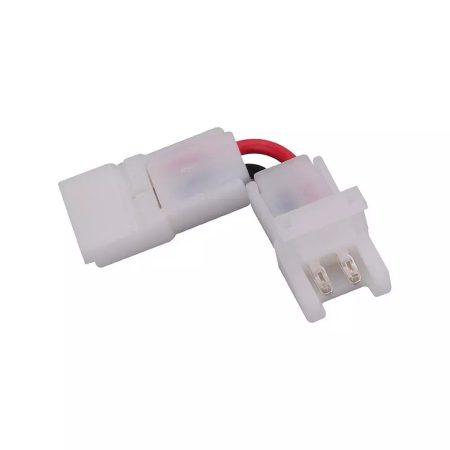 V-TAC forrasztásmentes sarokelem 8mm egyszínű LED szalaghoz - 2658