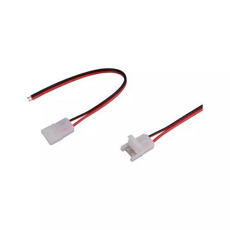 V-TAC forrasztásmentes betáp 10mm egyszínű LED szalaghoz - 2660