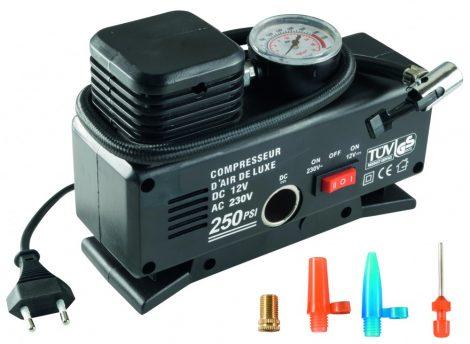 SAL 90786 Autós kompresszor 230V / 12V