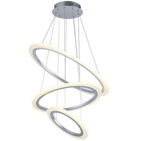 V-TAC exkluzív három szintes mennyezeti LED csillár - természetes fehér - 3905
