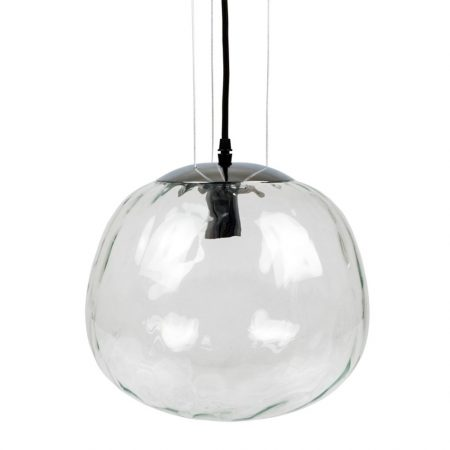 V-TAC Designer Globe mennyezeti üveg csillár, három függesztőkábellel - 3883