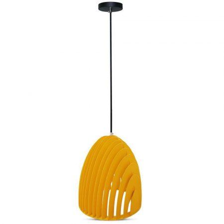 V-TAC Cone Prism mennyezeti csillár, sárga - 3954