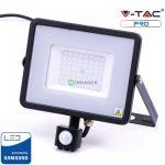 V-TAC LED panel, kerek lámpatest, 25W - 4000K - 1393