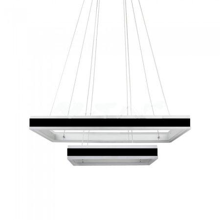 V-TAC exkluzív két szintes mennyezeti LED csillár - meleg fehér - 3987