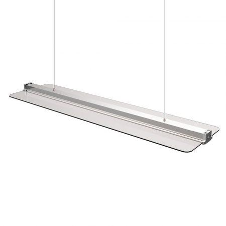 V-TAC átlátszó dimmelhető mennyezeti LED panel, 40W, 4000K, 120 x 30 cm - 6458