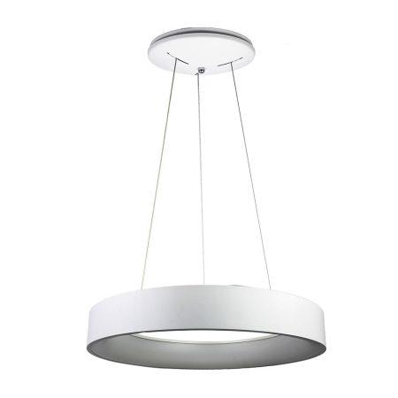 V-TAC 30W fényerőszabályozható csillár, fehér mennyezeti LED lámpa - 3995