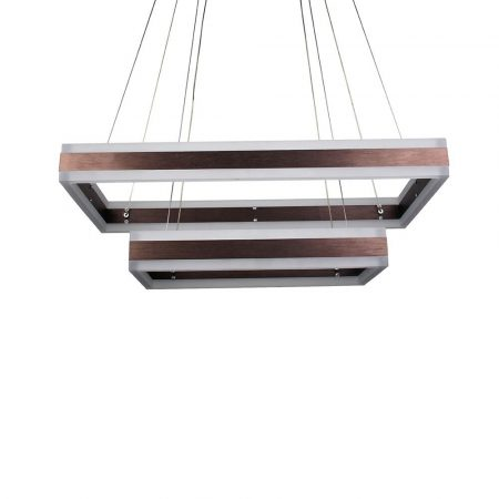 V-TAC exkluzív két szintes mennyezeti LED csillár - meleg fehér - 3988