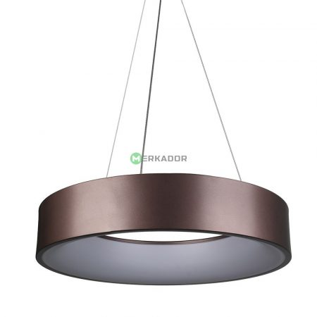 V-TAC 20W fényerőszabályozható csillár, kávébarna mennyezeti LED lámpa - 3994