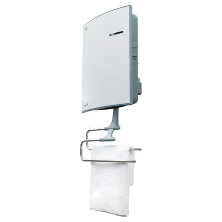 HOME elektromos fürdőszobai fali hősugárzó + törölközőszárító
