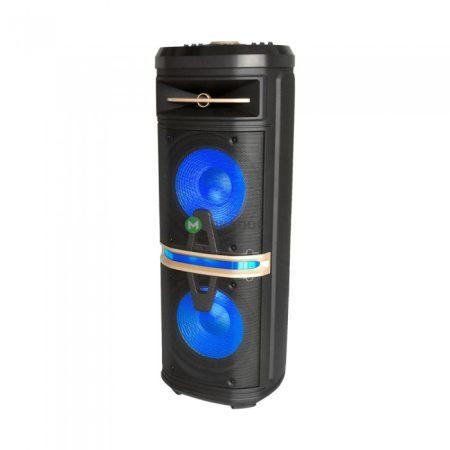 V-TAC Soundor hordozható aktív hangfal vezeték nélküli mikrofonnal 120W - 7734