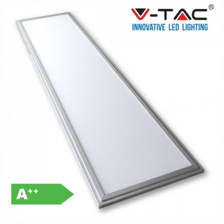 V-TAC A++ meleg fehér 29W LED panel 120 x 30 cm - 6256