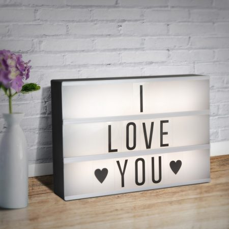 LED hangulatvilágítás - dekorfény üzenőfallal