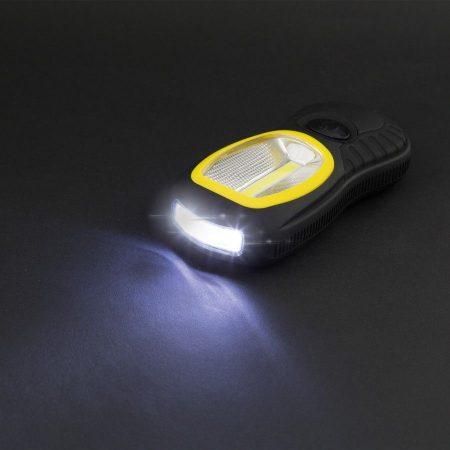 Mágneses COB LED-es szerelőlámpa, stekklámpa + 3 LED